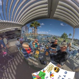 360 spherical Oyster Bar Liz Quay captures the mood with Aquatic views, SM hub https://linkfox.io/I57KQ BEST HASHTAGS  #OysterBarLizQuay   #ElizabethQuay  #PerthCity  #VisitPerthWA   #PerthAdventure   #WaTourism #Butterfly3d #theta360