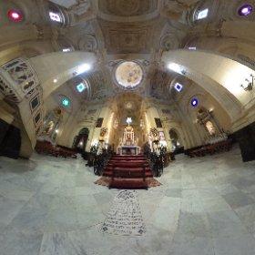Altar Mayor de la Iglesia San Juan Bautista, Iglesia Mayor #Chiclana #ChiclanadelaFrontera #theta360