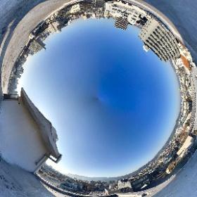 事務所屋上からの360°画像 #theta360