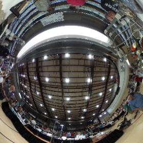 Gem and mineral show happening this weekend in East Peoria, IL. View from Gary Peavy's displays.  #theta360