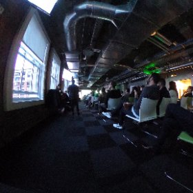 Designers and geeks, with Allan! #theta360