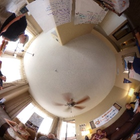 I'm regularly reminded that my friends miss my food and travel photos. We should correct that. @GoalBusters is hosting our second annual team retreat this weekend. This photo is the first 360 from our inaugural 2019 retreat. #theta360