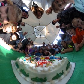DJ's 6th birthday. #theta360
