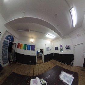 art exhibition at Dover smart art gallery of the young talented Scarlett Esherwood  #theta360 #theta360uk