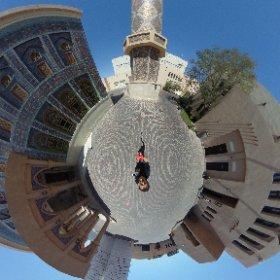 Blue Mosque Katara #theta360