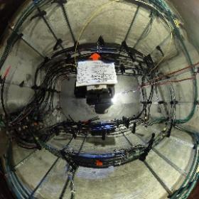 Photo 360, faite dans un puits électrique de la CSEM