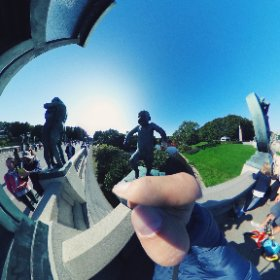 The star of Vigelandsparken #theta360
