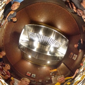 After the hazing, I mean group activity at #Castlesncoasters in Phoenix's 106° August heat, we had an amazing feast at #SeoulBBQ. Do you think we ordered enough? The second annual @GoalBusters team retreat begins today in #Sedona. #barbeque #theta360