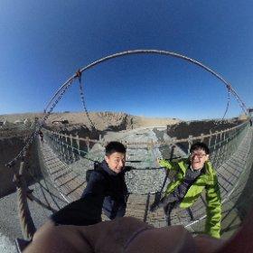 2.18 恐怖の吊橋 #theta360