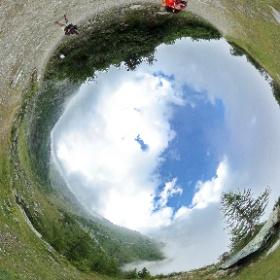 Sulla via del ritorno Col Barant e giardino botanico Peyronel - Valle Pellice - Piemonte