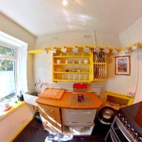 Station Master's House Kitchen #theta360 #theta360uk