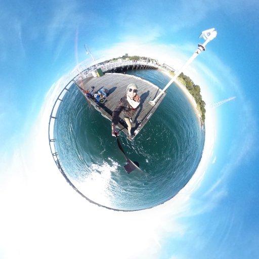 Alle guten Dinge sind 360° Sonntag geht loohooos mit der #druustory auf YouTube #derersteindeutschland #theta360 #australien #workandtravel