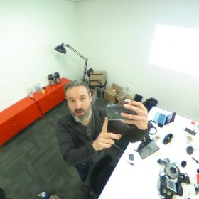 Mid training at the Bristol Post. #TMLive #theta360