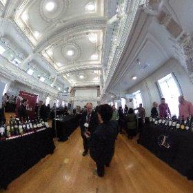 Salon des vins d'importation 2016. ..suite. ..😊 #theta360