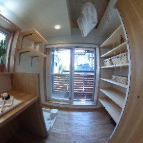 フルハウス(田園調布本町の家)洗面室
