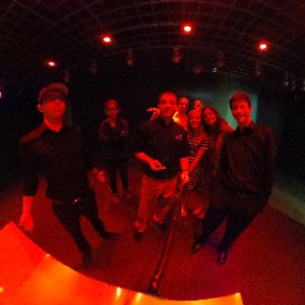 DMA Group checking out the planet Earth. #theta360