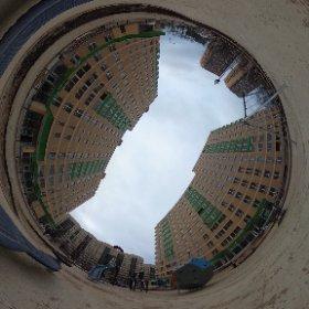 """ЖК """"Зеленая линия"""" в Коммунарке. 8 и 9 корпуса. Детская площадка."""