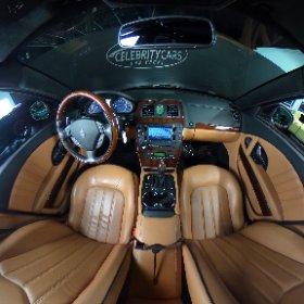2010 Maserati Quatroporte S Executive edition interior