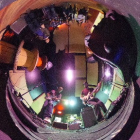 Night Windows performing at The Pharmacy in Philadelphia, PA on April 13, 2016. Photo by Bob Sweeney. #theta360