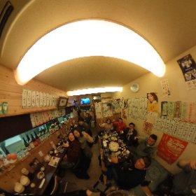 第4回美味しいお酒を呑みましょう会/もつ焼き豚娘(吉川市) #theta360