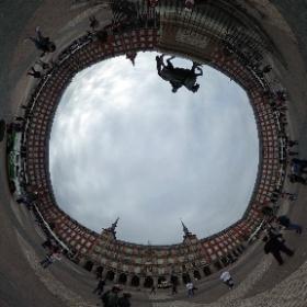 Plaza Mayor, Madrid, España. #theta360