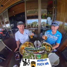 Lunch Wembley Golf Course, Perth WA, Public course 27 holes, Mini golf,  day - night driving range, tavern and function centre, SM hub https://linkfox.io/TZ99d BEST HASHTAGS  #WembleyGolfCourse  #VisitPerthWA #theta360