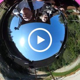 Adrenalin park Dolní Morava obří houpačka - Adrenalin Park Dolni Morava giant Swing #theta360