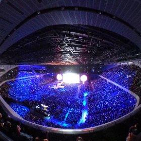 360°撮影 U2 来日公演 さいたまスーパーアリーナ #U2 #theta360