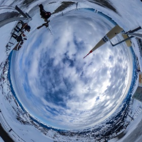 Swiss Alps Säntis #theta360