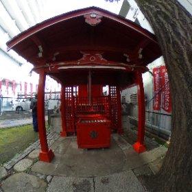 清水稲荷神社(目黒区目黒本町)。 #theta360