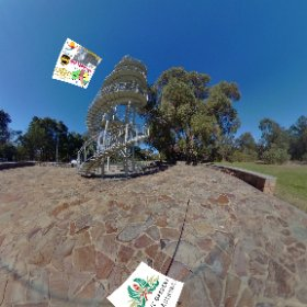 DNA Tower is the highest point of Kings park,  (101 steps) what a view, SM hub https://goo.gl/GFo2bh BEST HASHTAGS  #DNATower    #KingsParkWA   #PerthCity  #VisitPerthWA   #Butterfly3d