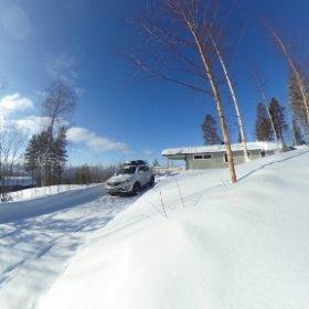 Winter in Norway #Fulufjellet #Trysil #theta360