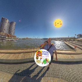 Spherical photo  60 min fast boat Eco Tour on Swan river Perth West Australia with Wild West Charters Elizabeth Quay https://linkfox.io/NQJNb  BEST HASHTAGS  #WildWestCharters #WWC60minTour #SwanRiver #JoyPerthWAJan2019  #TourismWA #VisitPerthWA #theta360