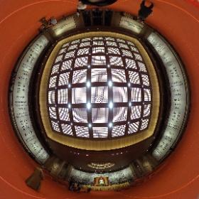 藏經樓大殿中 #theta360