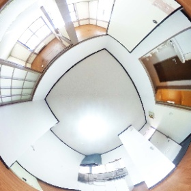 ローズタウン妙典201号室 リビング 2DK(39.75㎡) 行徳駅の不動産会社 賃貸のお部屋探しは株式会社さくらエステート #theta360