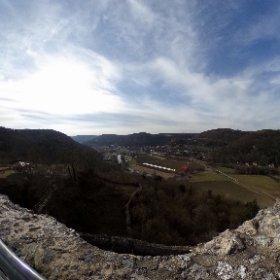 Ausblick von der #Burg #Neideck