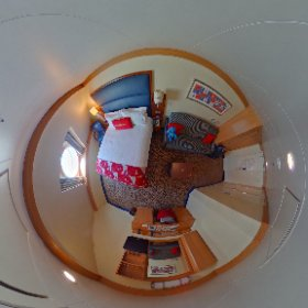 Take a look around cabin 7004 on the #Disney Dream! #theta360