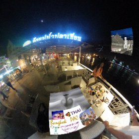 Pak Klong River Bistro on Chao Phraya river in Rattanakosin Bangkok is popular for travellers, open air 50 seater patio on the river open air  SM hub https://goo.gl/X5HhKc BEST HASHTAGS #PakKlongRiverBistro  #BkkDining  #ChaoPhrayaF&D  #butterfly3d