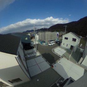 屋上右眺望 #theta360