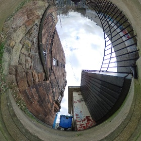 Took another look at Morningside Station. Hopefully with the efforts of @JimEadieSNP it'll live again. #theta360