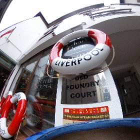Experimenting with our new Ricoh Theta S 360 camera, stand by for a few strange images.. #theta360 #theta360uk