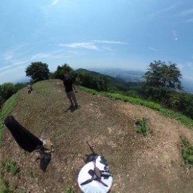 [ 360度 写真 ] 京都 福知山 鬼ヶ城 山頂なふぃ