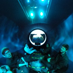 DMA students going under the sea in a submarine. A view from one of today's sessions. #schooltocareer @WCPSS #theta360