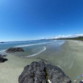 Beach near Tofino #theta360
