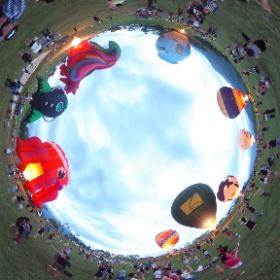 十隻同噴,破例入場 #taiwan #theta360