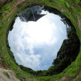 マッシュ号でハッチョウトンボの撮影に黒河湿地に行ってきた。誰もいない... #theta360