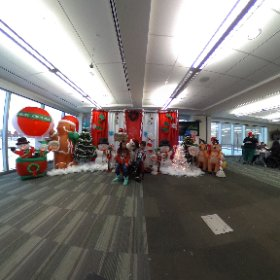 VR view of The ATB Calgary Campus Family Christmas Party #theta360