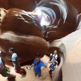 #slotcanyon Antelope Canyon