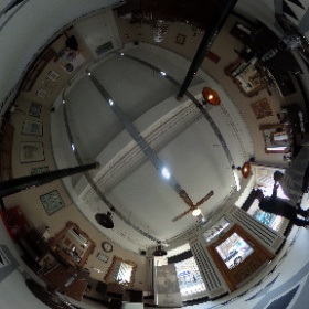 The Old School Barber Shop Kirkintilloch #theta360 #theta360uk