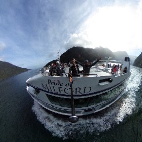 Hey Claire, thanks for the awesome trip. Just click here and take a look at Milford in 360 :D